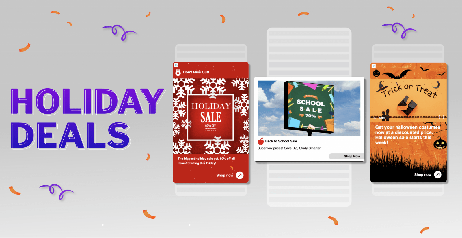 Check Out These Holiday Deals For Your Upcoming Campaigns